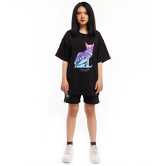 ARISIA CATS TEE (Black)