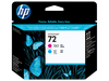 HP 72 Magenta and Cyan Printhead (C9383A)