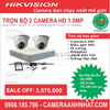 Bộ 2 camera Dome HD 1.0Mp Hikvision