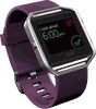 Fitbit Blaze Smart Fitness Watch - Plum