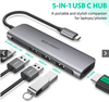 CÁP USB-C TO HDMI + USB 3.0 (50209) UGREEN