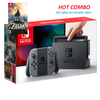 Switch with Gray Joy‑Con, game card Zelda--HẾT HÀNG.