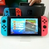 Nintendo Switch Neon Blue Red Joy‑Con fullbox, 2nd hand---HẾT HÀNG