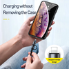 Cáp sạc nhanh 2 đầu tích hợp Baseus Twins 2 in 1 dùng cho Android/ iPhone/ iPad/ Macbook (Type C to Type-C/ Lightning, 60W PD/ QC3.0 Quick Charge & Sync Data Cable)
