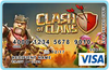 GAMES VISA CARD