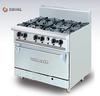 Bếp âu 6 họng có lò nướng Berjaya / Deluxe Range Oven with Open Burner DRO 6L