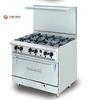 Bếp âu 6 họng có lò nướng Berjaya / Deluxe Range Oven with Open Burner  DRO 6H