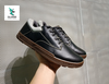 CAT LEATHER SNEAKER BLACK