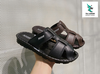 ADDA MEN' S FLIP FLOPS BLACK