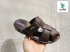 ADDA MEN' S FLIP FLOPS BROWN