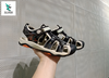 OFF WHITE LITE SANDALS BLACK CREAM