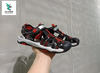 OFF WHITE LITE SANDALS BLACK RED