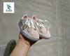 P M SUEDE KIDS SNEAKER LIGHT PINK