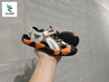 KIDS SPORT SANDALS BLACK ORANGE