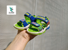 SPIDERMAN LITTLE KIDS SANDALS GREEN BLUE
