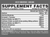 Outlift Concentrate 30 servings facts