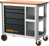 Tủ dụng cụ 914582 - Mobile workbench with 5 drawers, can be pulled out from either side 5