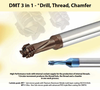 DMT 3 in 1 - Drill, Thread, Chamfer