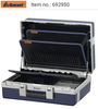 Service tool case with base shell and tool boards 692950, 692955, 692960