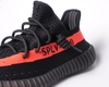 Yeezy 350 v2 Black Red