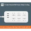 Ổ cắm Xiaomi Mi Power Strip 6 cổng ( 3 USB)