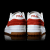 FILA T-ONE MID RED SQUARE WHITE AND RED - Giày FILA nữ, giày FILA nam