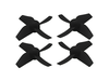 31mm 4 Blade Propeller (2CW+2CCW; 0.8mm Shaft) (Black)