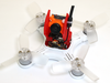 Rakonheli TPU Micro Swift + Eachine VTX03 Mount Set (Red) - EMAX Babyhawk
