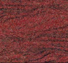IMPORTED NATURAL STONE - INDIA GRANITE - DYED RED MULTI COLOUR