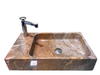 [NEW] NATURAL STONE BATHROOM BASIN - PINK - HCN27
