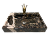 [NEW] NATURAL STONE BATHROOM BASIN - COW BROWN - LBKX