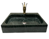 [NEW] NATURAL STONE BATHROOM BASIN - INDIA GREEN - LBKX
