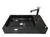 [NEW] NATURAL STONE BATHROOM BASIN - BLACK MARBLE - DCN27