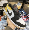 Giày Jordan 1 Low Yellow White Black