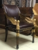 Jonathan charles empire angel wing arm chair