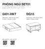 COMBO GIƯỜNG NGỦ - BEDSET01