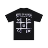 METALLIC TIC-TAC-TOE TEE
