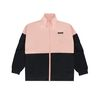 2-TONE ZIP JACKET - PINK/BLACK