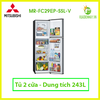 Tủ lạnh Mitsubishi Electric Inverter 243 lít MR-FC29EP-SSL-V