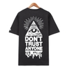 Áo thun illuminati Don't trust charcoal FT0032