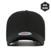 B004 BIG-Cotton plain baseball cap BK