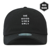 FB124 BIG-Long tail ballcap BK