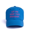 [outlet] Nón LOPE KEEP MEMORY CAP blue