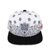 [outlet] Nón hiphop SNOW PAISELY black/white