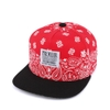 [outlet] Nón hiphop  SNOW PAISELY red/white