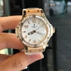 HUBLOT BB Gold vành Baguette like new 99% size 38 = 1x 000$