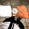 HUBLOT BIGBANG Gold Diamond Baguette Like New 99%