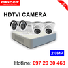 Gói camera HDTVI Hikvision 2.0 MP