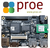 CHAMELEON96  Features the Intel® Cyclone V SoC FPGA, a dual-core ARM® Cortex™-A9