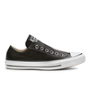 Giày Converse Chuck Taylor All Star Leather Slip Black - Low